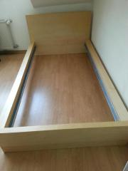 Ikea malm bett birke  Ikea Malm Bett in Nauheim - Haushalt & Möbel - gebraucht und neu ...