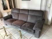 neuwertige Sofa 2x
