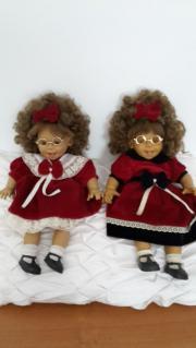 Niedliche Puppen aus