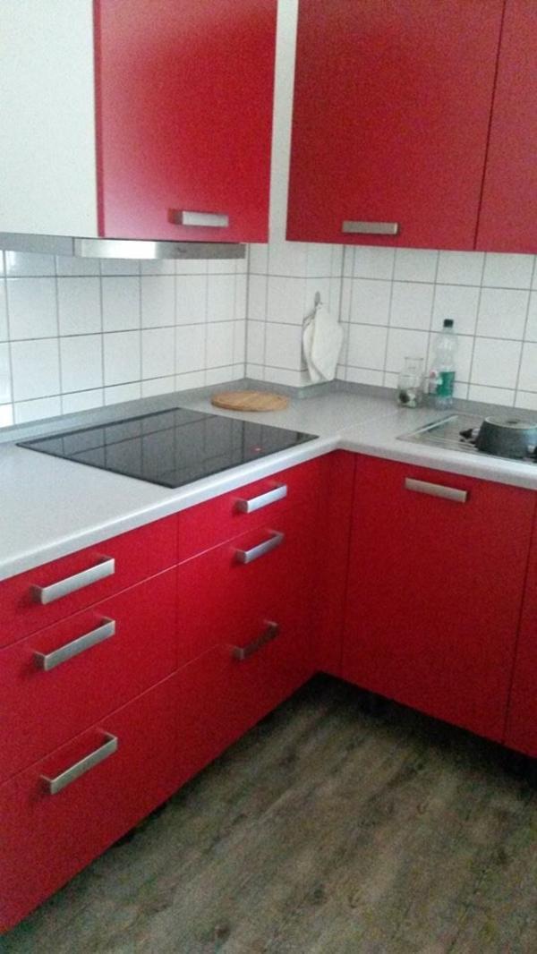 nobila küche, rot, neuwertig in remscheid - küchenzeilen ... - Nobila Küche