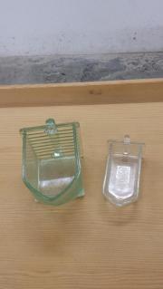 Nostalgische Glasschütten verschiedene Größen