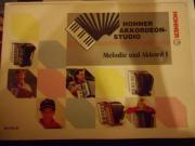 Notenbuch für Akkordeon