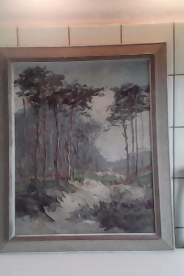 Öl auf Leinwand » Kunst, Gemälde, Plastik