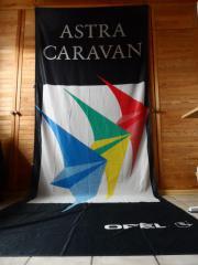Opel Astra Caravan Fahne - Flagge -