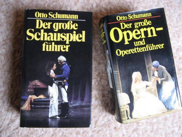"""Opern- und Operettenführer - Neustadt Gimmeldingen - - """"Der große Opern- und Operettenführer"""" von Otto Schumann. Umfassendes Nachschlagewerk bzw. Querschnitt auf über 730 Seiten für Opern, Operetten und Musical. Der Verfasser setzt sich kritsch mit den einzelnen Werken auseinande - Neustadt Gimmeldingen"""