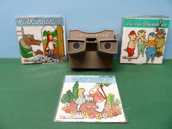 Original View-Master Sawyers 3D Bildbetrachter