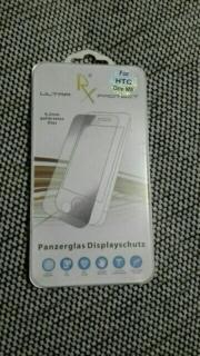 panzerglas HTC NEU