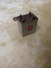 Papierkondensator 3x1 2uF