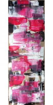 Pink glory - 35x100x2cm