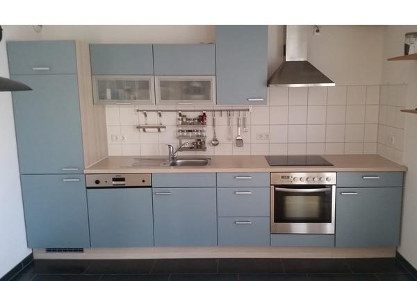pino küche (alno) mit geschirrspüler, kühlschrank, gefrierschrank ... - Küche Mit Geschirrspüler