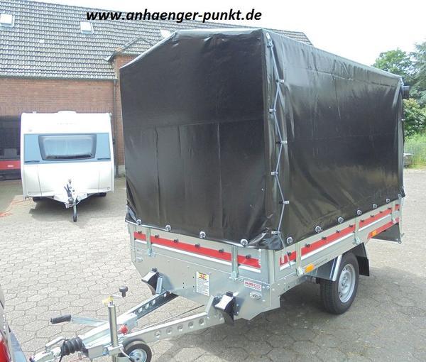 pkw anh nger hochlader 1300 kg 2 63m x 1 56m inkl lkw. Black Bedroom Furniture Sets. Home Design Ideas