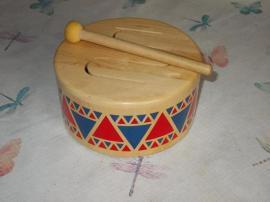 Holzspielzeug - Plantoys Trommel fest