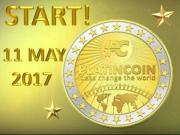 Platin Coin Zahlungsmittel