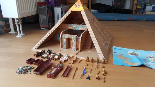 playmobil gypten sammlung sortiert pyramide pharaonentempel haus kamelsammlung in dachau. Black Bedroom Furniture Sets. Home Design Ideas