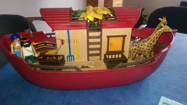 playmobil arche noah 3255 gebraucht laut bild in bondorf spielzeug lego playmobil kaufen. Black Bedroom Furniture Sets. Home Design Ideas