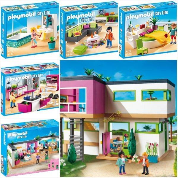 Playmobil Einrichtung Luxusvilla