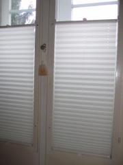 Plissee statt Vorhang - stilvolle Fensterdeko -
