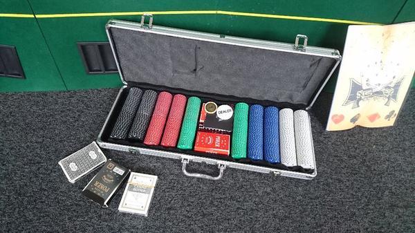 poker set tisch in wolfurt gesellschaftsspiele kaufen und verkaufen ber private kleinanzeigen. Black Bedroom Furniture Sets. Home Design Ideas