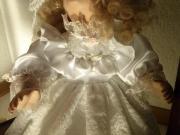 Porzellan Puppe Baby Hochzeitspaar von