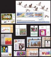 Postfrische deutsche Briefmarken III Quartal