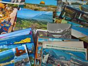 Postkartensammlung aus den 80er Jahren