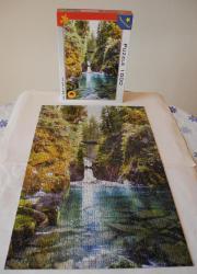 Puzzle 1000 Wasserfall;