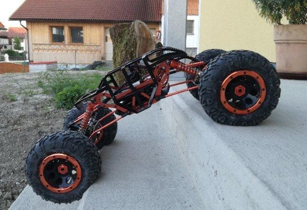 rc rock crawler m 1 8 modifiziert in ried im innkreis rc. Black Bedroom Furniture Sets. Home Design Ideas