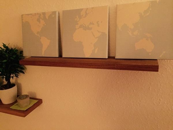 regalbrett wandboard massivholz eiche nuss kirschbaum neu. Black Bedroom Furniture Sets. Home Design Ideas