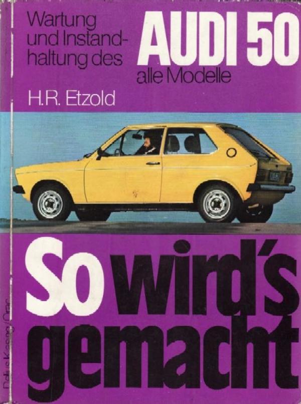 Reparaturhandbuch Audi 50
