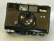Rollei 35B schwarz top Zustand