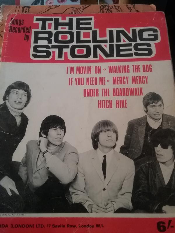 Rolling Stones Noten - Heilbad Heiligenstadt Günterode - Rolling Stones Noten Heft Belinda Verlag London 1965 - Heilbad Heiligenstadt Günterode