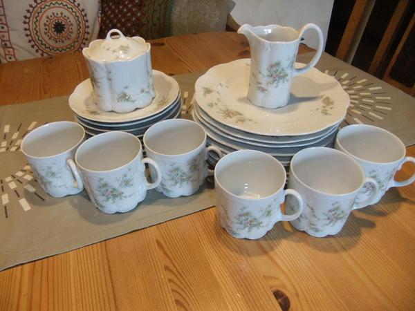 rosenthal gr ne ranke 39 monbijou 39 kaffeegeschirr in frankfurt geschirr und besteck kaufen und. Black Bedroom Furniture Sets. Home Design Ideas