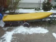 Ruderboot Angelboot