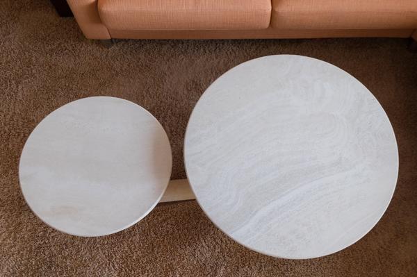 Runder Marmor-Tisch » Couchtische