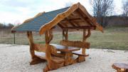 Rustikale Pavillon mit