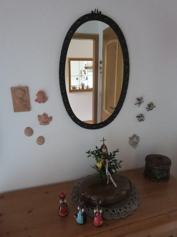 Wandspiegel rahmen gebraucht kaufen nur 2 st bis 70 for Rustikaler spiegel