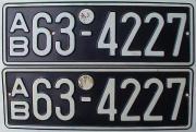 Sammler sucht Autokennzeichen vor 1945