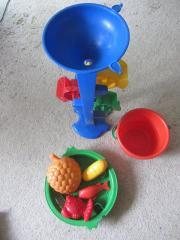 Sandspielzeug Schnorchel Trinktasse Beachball