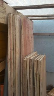 Schaltafeln Bauholz Holzkeile