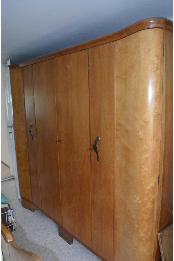 schlafzimmer von 1950 in d beln schr nke sonstige schlafzimmerm bel kaufen und verkaufen ber. Black Bedroom Furniture Sets. Home Design Ideas