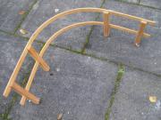 Schlittenlehne aus Holz