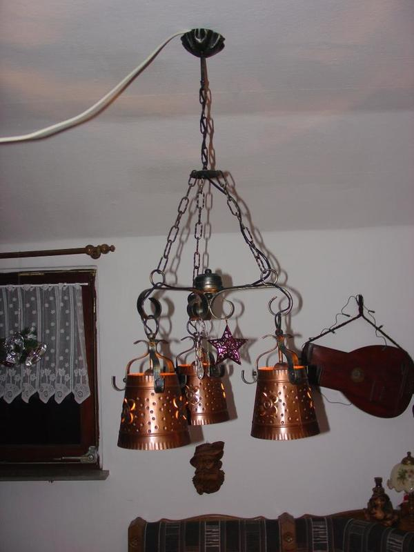 schmiedeeiserne lampen neu und gebraucht kaufen bei. Black Bedroom Furniture Sets. Home Design Ideas