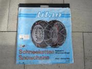 Schneeketten-Set 2 Stück TITAN CP0002