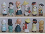 schöne Keramik Figuren