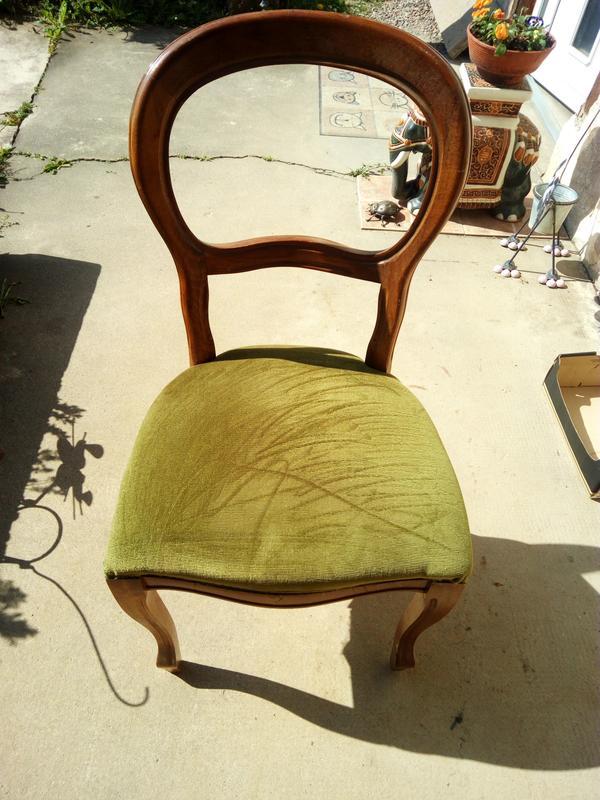 stuhl gepolstert gebraucht kaufen nur 4 st bis 75 g nstiger. Black Bedroom Furniture Sets. Home Design Ideas
