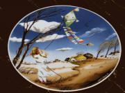 Schöner Wandteller von Villeroy und
