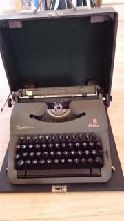 Schreibmaschine Optima Elite