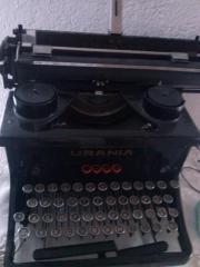 Schreibmaschine Urania für Sammler 60