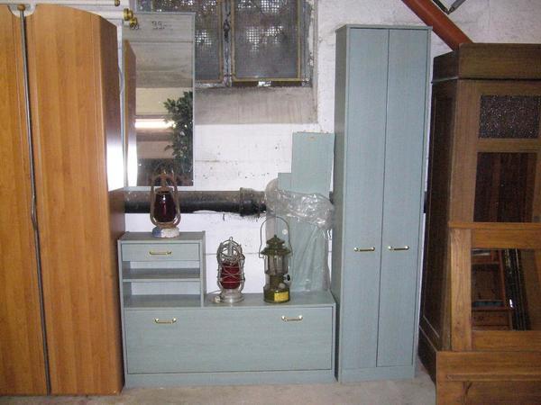Schuhschrank, Hochschrank und Spiegel, ideale Möbel für den Flur in ...