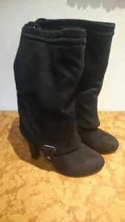 Schwarzer Stiefel Größe 38 1